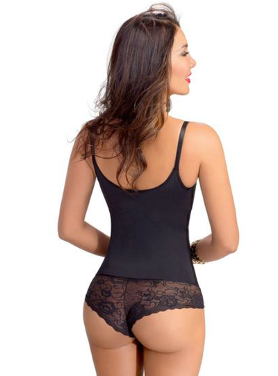 Lowla Powernet Girdle Waist Molding with Lace Details