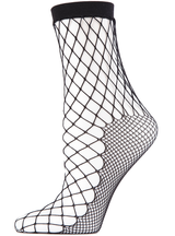 MeMoi Nothing but Net Fishnet Socks