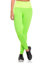 Cysm Ultra Compression and Abdomen Control Fit Legging Lemon