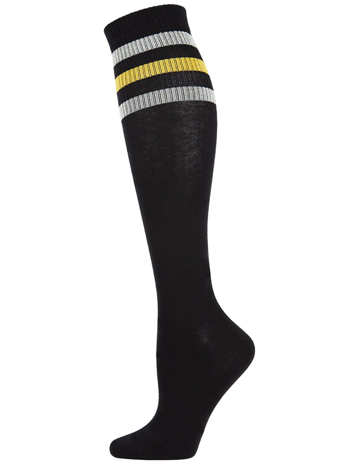 MeMoi Mod Stripe Knee High Tube Socks