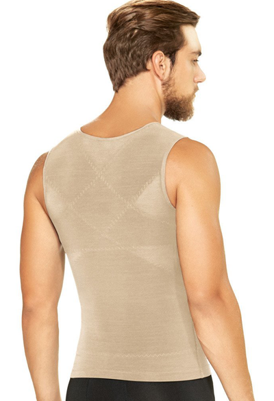 Diane & Geordi Men's Compression Undershirt Back Support