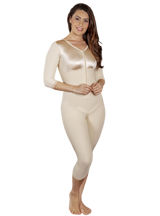 Caromed Sculptures Below the Knee Body Shaper with Sleeves