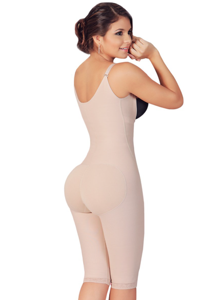 Fajas Salome Women Post Surgery Full Body Shaper with Zipper Shapewear