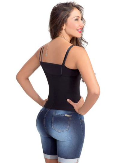 Lowla Denim Shorts with Lift Spandex Buttocks and Waistband Shaper