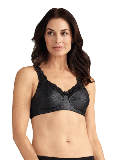 Amoena Ava Soft Bra - Black