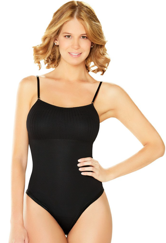 Diane & Geordi Bodysuit Thong Shapewear