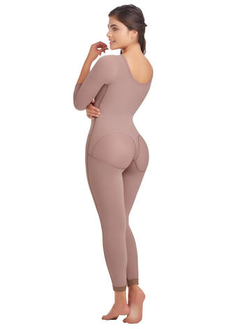 Delie by Fajas D'Prada Long Size-Reducing & Post-Surgical Girdle