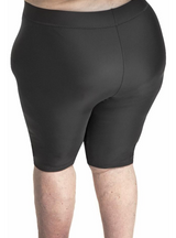 Wear Ease NEW High Waist Compression Shorts - Plus Size