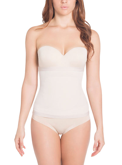Siluet No Closure Thermo-Reducer Waist Cincher with frontal Latex Panel