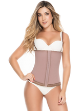 Delie by Fajas D'Prada Strapless Abdominal Girdle with Hook