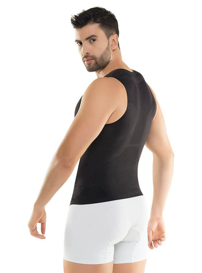 Cysm Men's Seamless Control Compression Shirt