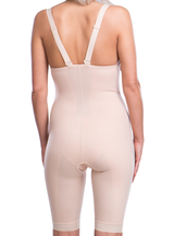 Lipoelastic VF Variant - Post Surgical Above Knee Adjustable Compression Girdle With Crotch Opening