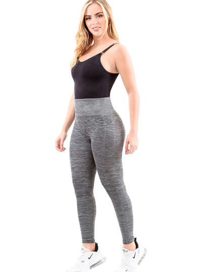 Laty Rose Butt Lifting High Waisted Sports Leggings For Women