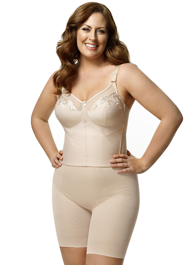 Elila Embroidered Longline Softcup