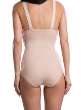 Lipoelastic Post Surgical Girdle - Adjustable Hook And Eye Fastening On Both Sides