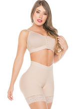 Fajas Salome High Waist Compression Slimmer Shapewear Shorts