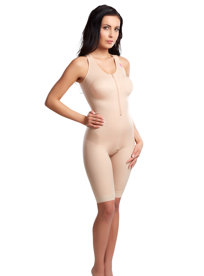 Lipoelastic MGF Comfort - Compression full Bodysuit to above knee