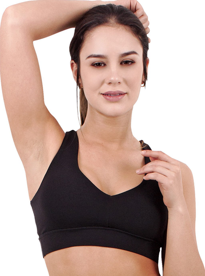 Flexmee Luxury Sport Active Criss Cross Bra | Supplex 360