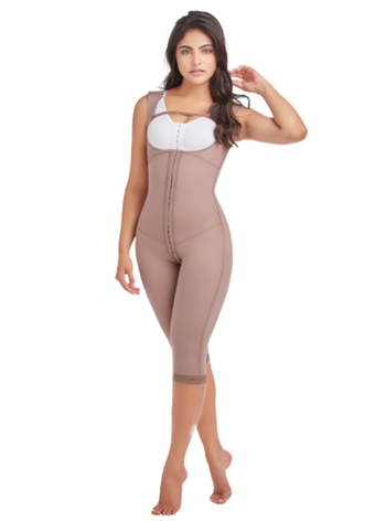 Delie by Fajas D'Prada Post surgical first stage girdle to the knee - hooks