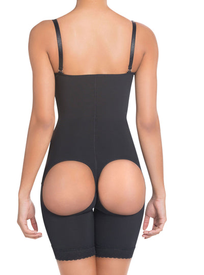 Siluet High Compression Derriere Lift Mid-Thigh Body Shaper