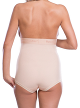 Lipoelastic Post Surgical Girdle - Pull Up Design With Hook & Eye Accessible Crotch Opening