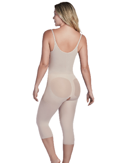 Shaperlove Thermal Open Bust Capri Bodyshaper