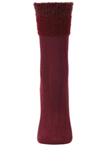 MeMoi Parfait Striped Crew Socks