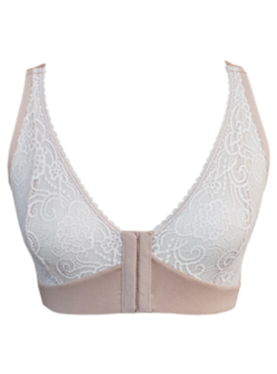 Ana Ono Lace Cup Front Closure Bra