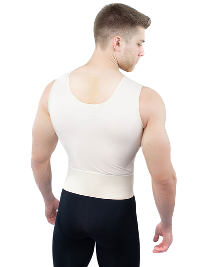 ContourMD Contour Male Compression Vest With Sleeves - Style 11S