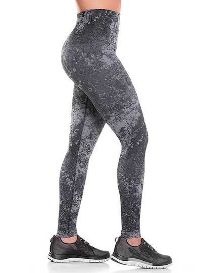 Cysm Ultra Compression and Abdomen Control Fit Legging Lunar Gray