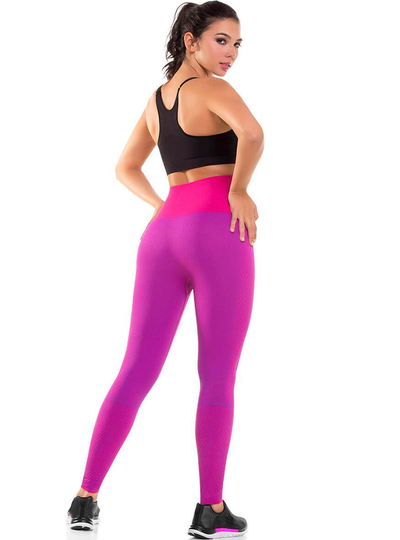 Cysm Ultra Compression and Abdomen Control Fit Legging Fuchsia