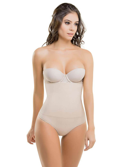 Cysm Strapless Ultra Compression Body Shaper