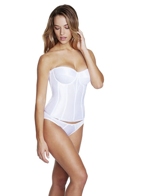 Final Sale Clearance Dominique Satin Tricot Torsolette