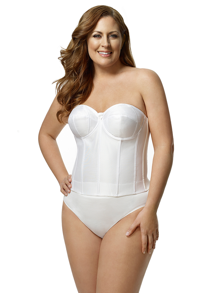 Elila Smooth Strapless Longline