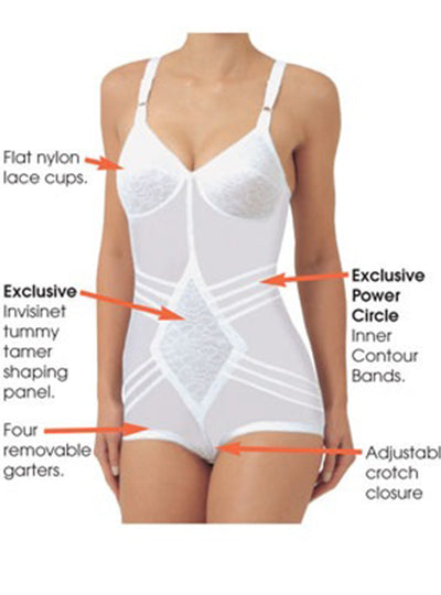 Rago Body Briefer Firm Shaping