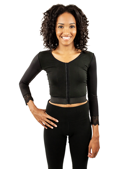 ContourMD Contour Compression Vest With Sleeves - Style 24V