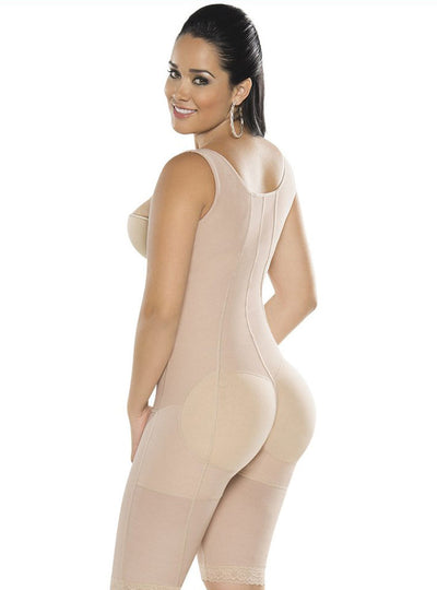 Equilibrium Firm Compression Girdle High Back Wide Strap Bodysuit