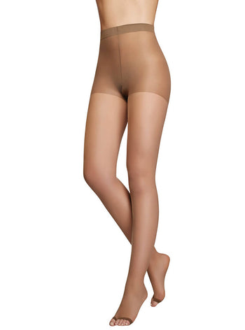 Co'Coon Sheer Control Top Pantyhose with Open Toe
