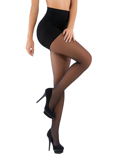Co'Coon Pantyhose Vitamin E High Brief Butt Lift