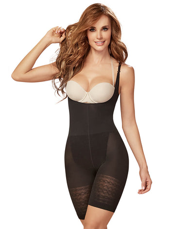 Curveez Thermal Braless Fullbody Short