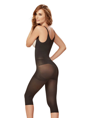 Curveez Thermal Braless Full Body Capri