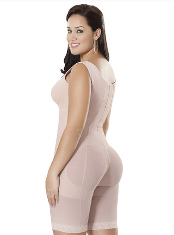 Equilibrium Firm Compression Girdle - Bodysuit with Bra