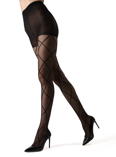 MeMoi Antwerp Sheer Diamond Tights