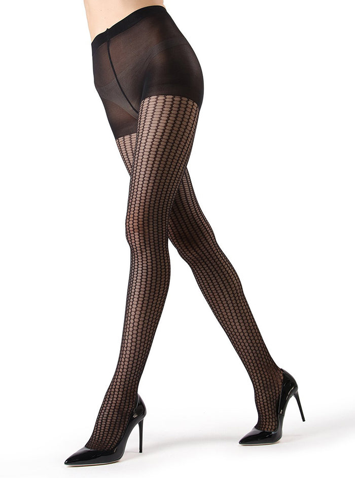 MeMoi Miami Honeycomb Tights