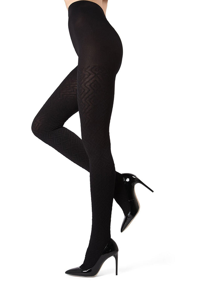 MeMoi Diamond Fill Tights