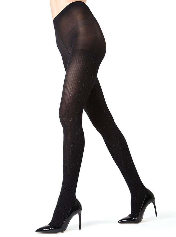 MeMoi Speckled Fashion Tights