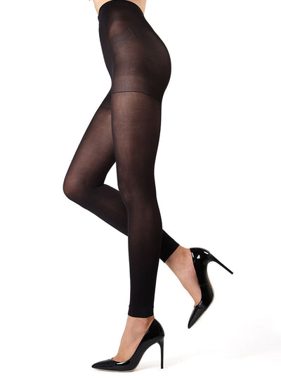 MeMoi perfectamente opaco Control Top Tights