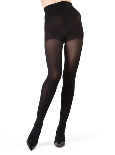 MeMoi Velvet Touch Control Top Tights