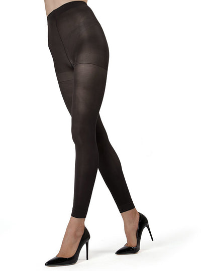 MeMoi Control Top Footless Tights