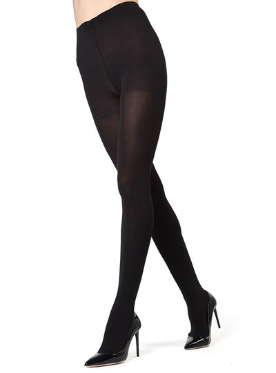 MeMoi Completely Opaque Control Top Tights